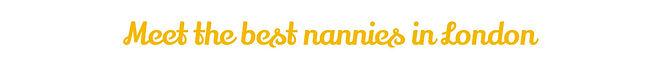 Meet the best nanny in London