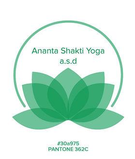 Ananta Shakti yoga tipography