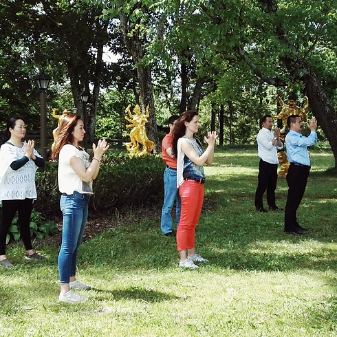 Standing Meditation - Tangmi Inner Yoga