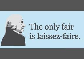 Socialism for the rich--Laissez-faire Capitalism for Everyone Else