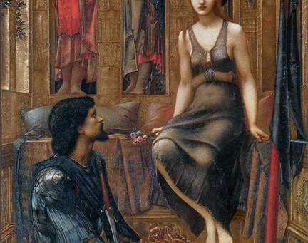 The King and the Beggar-maid British artist Edward Burne-Jones (1833–1898)
