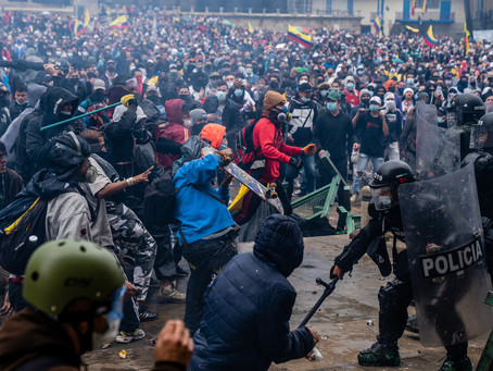 Colombia: Mass Protest and Police Violence