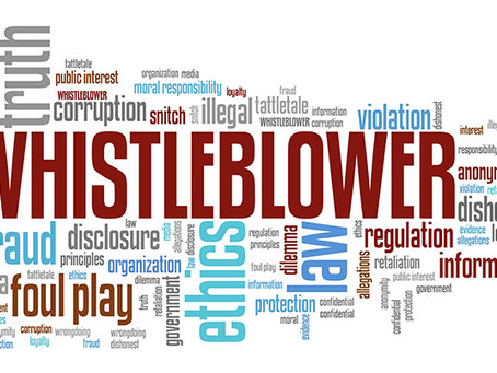 Why Blow the Whistle?