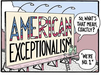 International Rules and Values Brought to You by Exceptionalist America