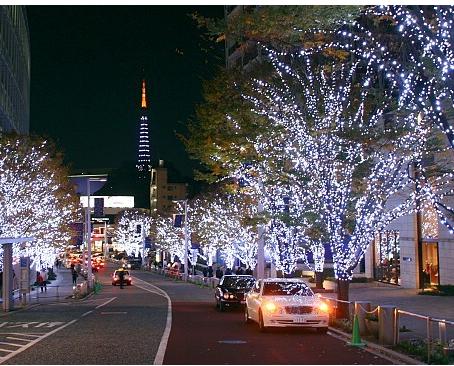 A incrível Iluminação de Inverno em Tokyo