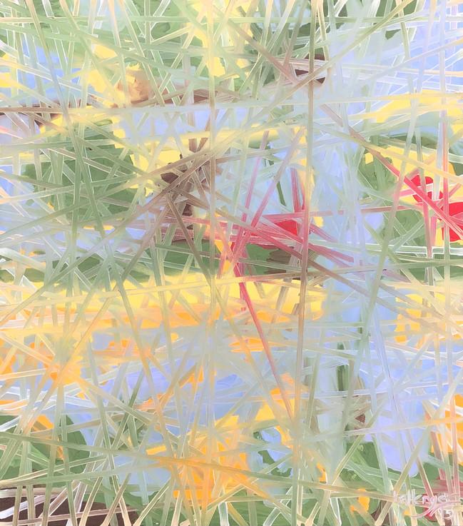 Bonnard Weave, No. 2 (Grape Harvest)  2013