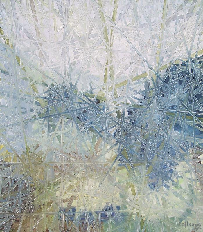 Bonnard Weave, No. 12 (Landscape With Go