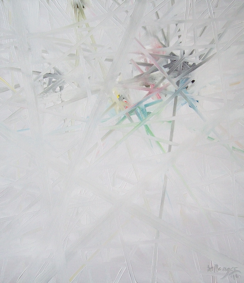 Opie Weave (Yellow Diamond Abstract)     2016
