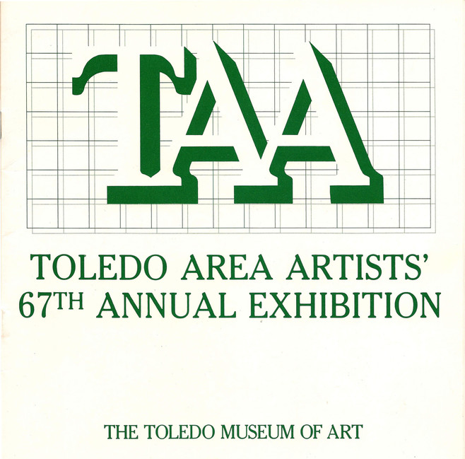 Toledo Area Artists' 67th Annual Exhibition     1985