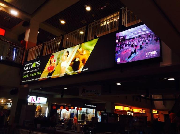 Amore Fitness _ HeartLand Mall P7.62 rgb