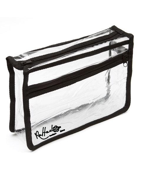 Pochette Transparente Vide Grand / Empty Transparent Pouch Large