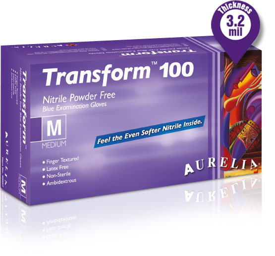 Nitrille Transforme Gants / Nitrille Gants   100