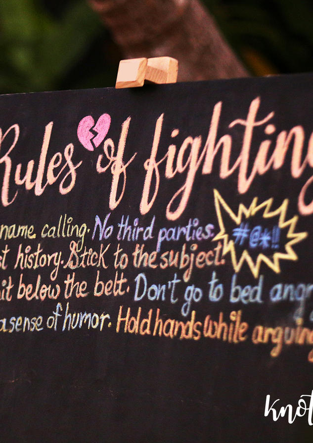 Rules of fighting