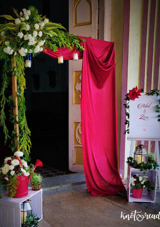 Entrance to your happily after