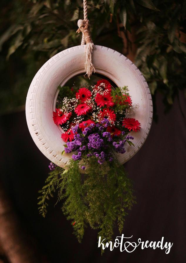 Tyre Bouquet