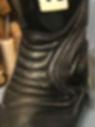ブーツ 革当補修