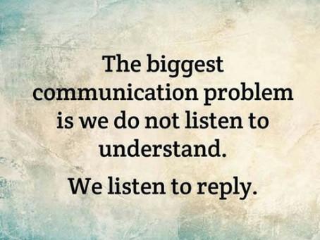 Luister je om te begrijpen... of om te antwoorden?
