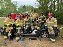 Our Firefighters Train!