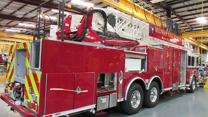 New Ladder 814 is Coming Together