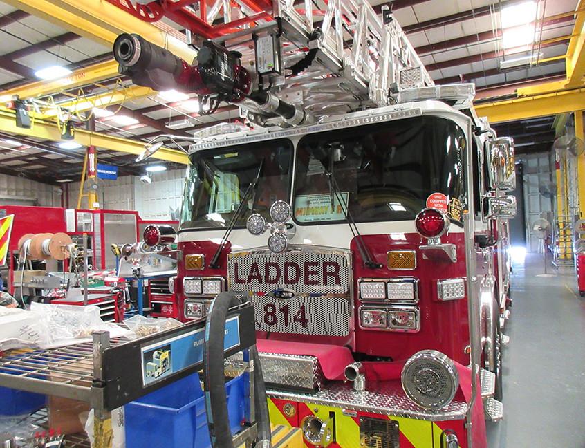 Ladder load front