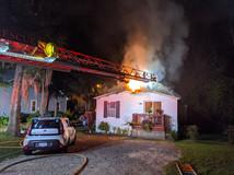 Minnow Drive House Fire
