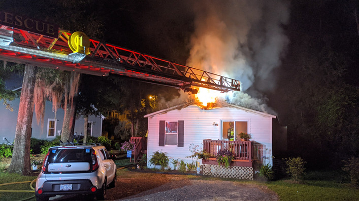 Minnow Drive House Fire