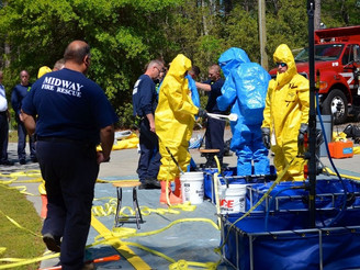 Hazardous Materials Training at MFR