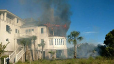 2nd Alarm Fire in Debordieu Colony