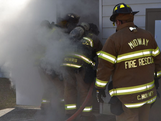 Acquired Structure Brings Real Life Feel To Firefighters