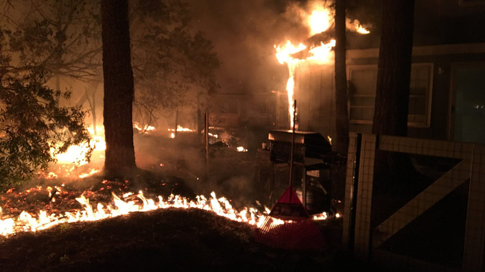Occupants escape unharmed after 3rd alarm fire in Pawleys Island