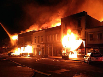 Georgetown Historic District Suffers Fire