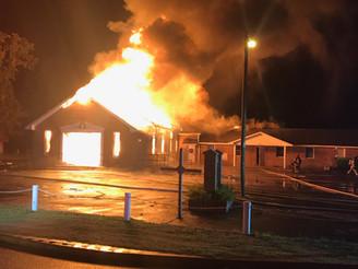Pennyroyal Church Fire