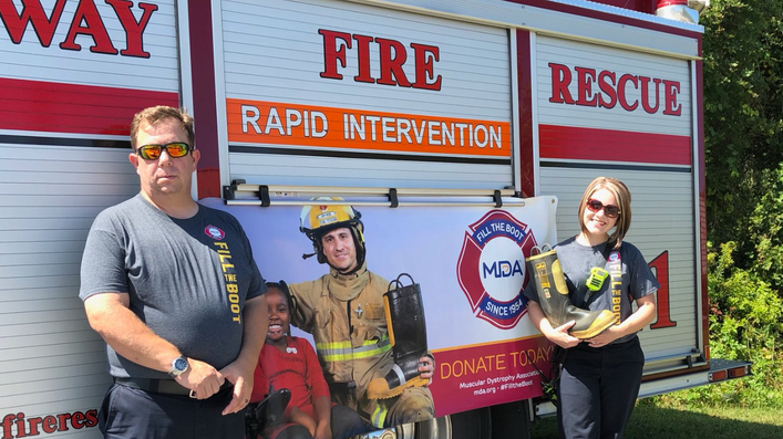 Midway Firefighters Raise Money for MDA!