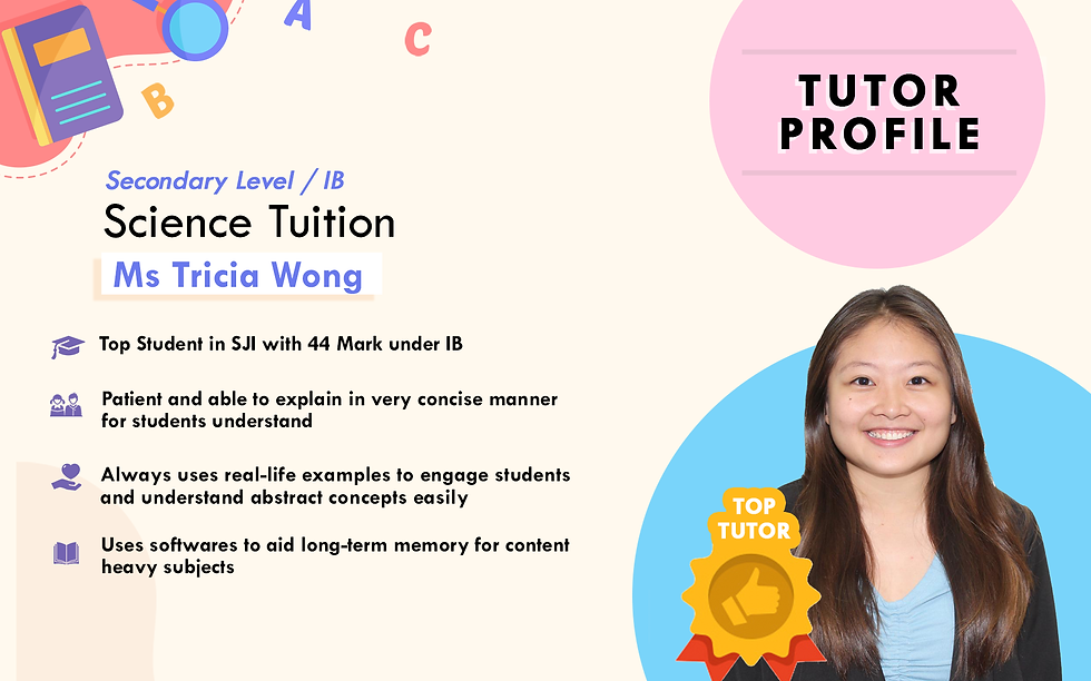 Science_Sec_IP_IB-Ms Tricia Wong_Sophia