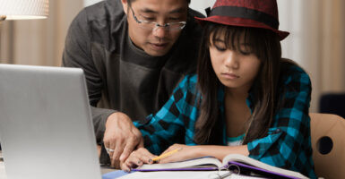 Parents Who Set The Standard For Students To Score