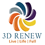 Image of 3D Renew, LLC logo depicts the sun rising and setting. Showing renewal of each day.