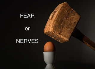 Fears, Nerves and Resiliency