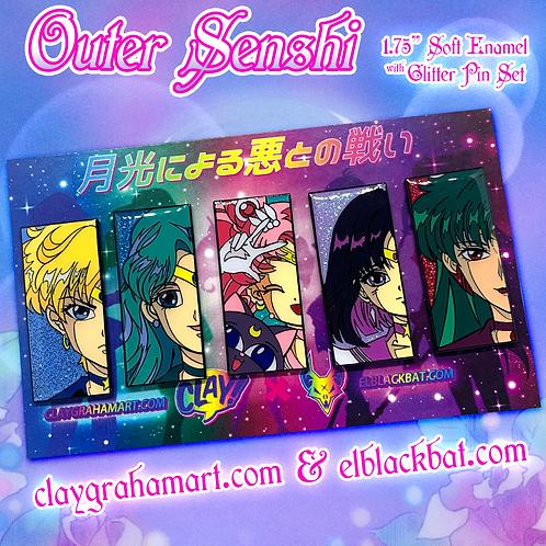 Outer Senshi B GRADE Set