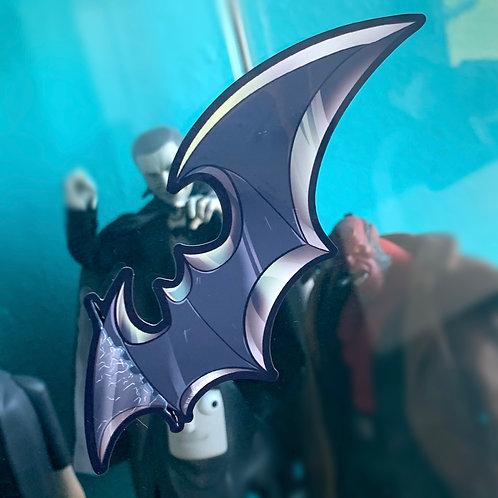 Batarang Window Cling