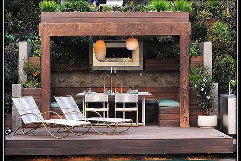Outdoor Mini Dining room Pergola (Supply & Fix) WF 03/A