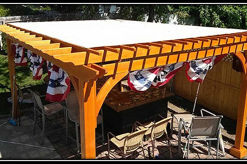 Garden Pergola with Ceiling cover (Supply & Fix) 06/A