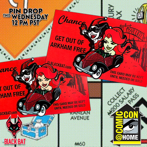 Get Out of Arkham pin