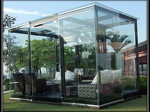 Glass Room Pergola (Supply) WF 01