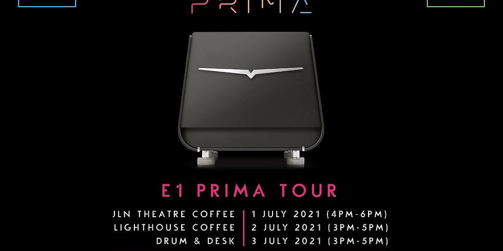 Victoria Arduino E1 Prima Demo Tour