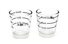 Incasa Shot Measurement Glass 15_30_45ml