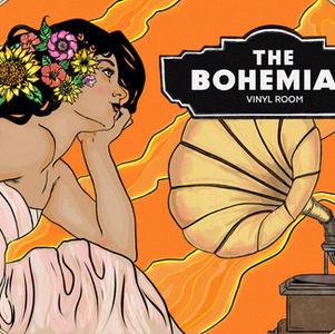 The Bohemian Vinyl Room
