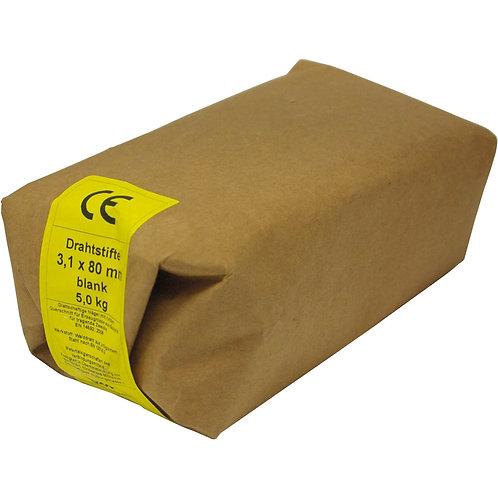 Drahtstifte BLANK Senkkopf Wickelpackungen 5kg