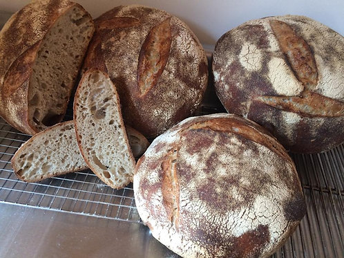 Sun 22nd Aug: Sourdough, Bagels, Focaccia and Naan bread.