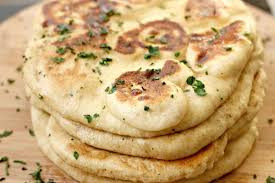 Sourdough Naan breads