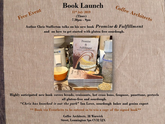 Hang on its a Gluten-Free baking book launch!